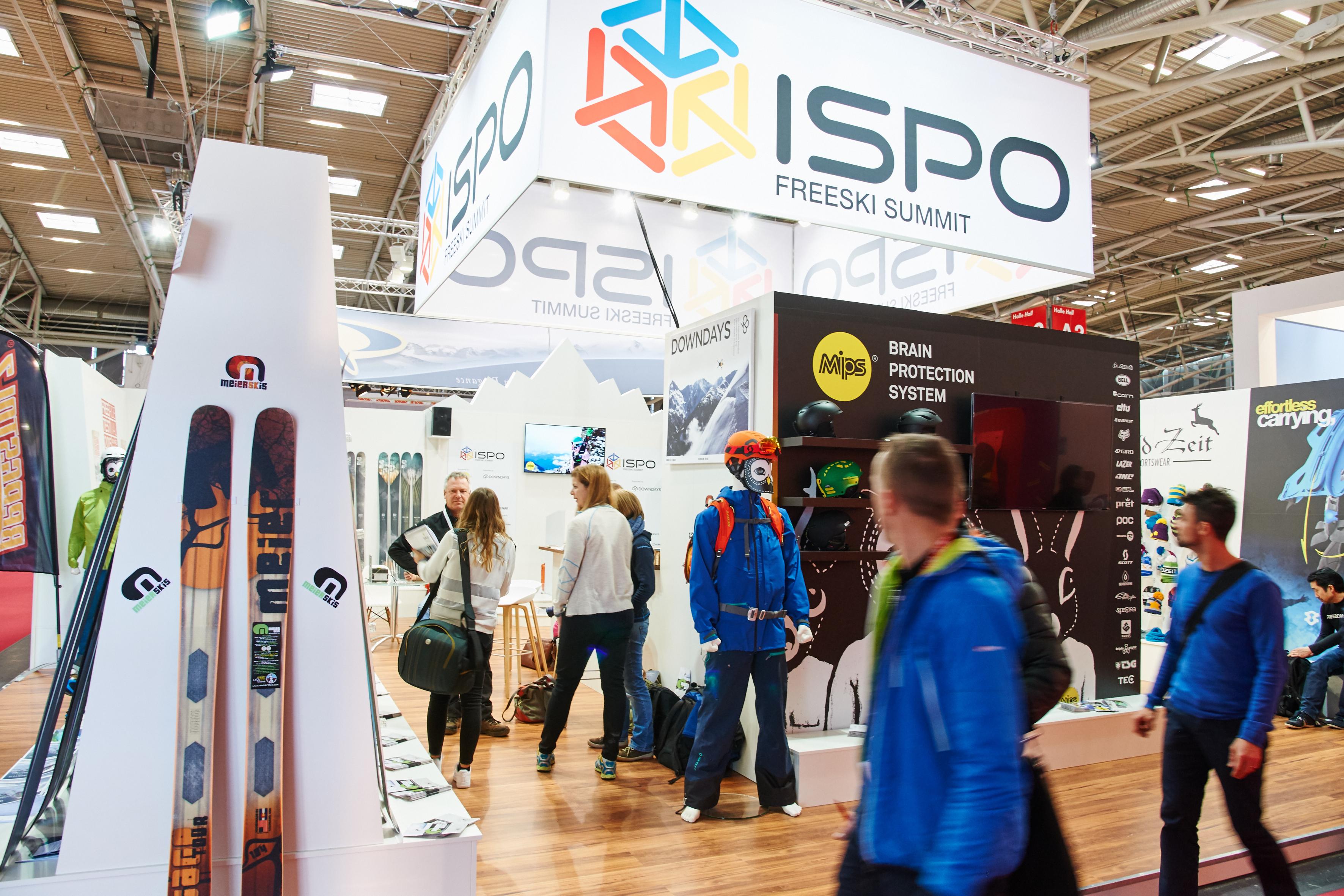 Die BERGSTEIGER-Redaktion auf der ISPO 2016