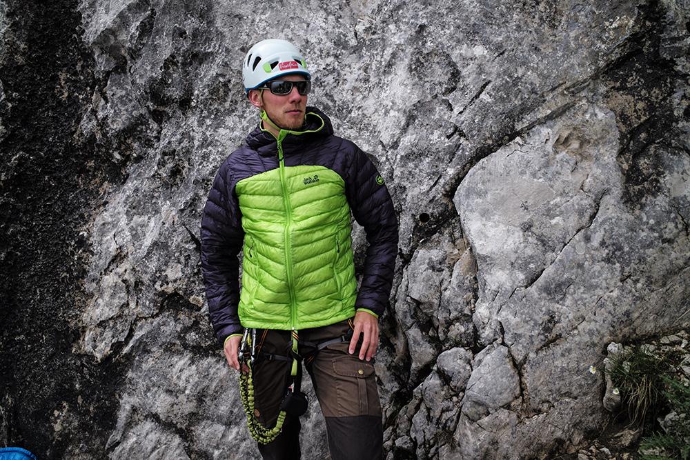 Im BERGSTEIGER Test 10/2015: JACK WOLFSKIN Argo Jacket