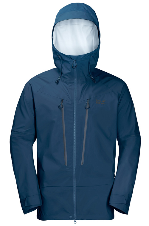 Im Bergsteiger Test: Jack Wolfskin Exolight Mountain Jacket