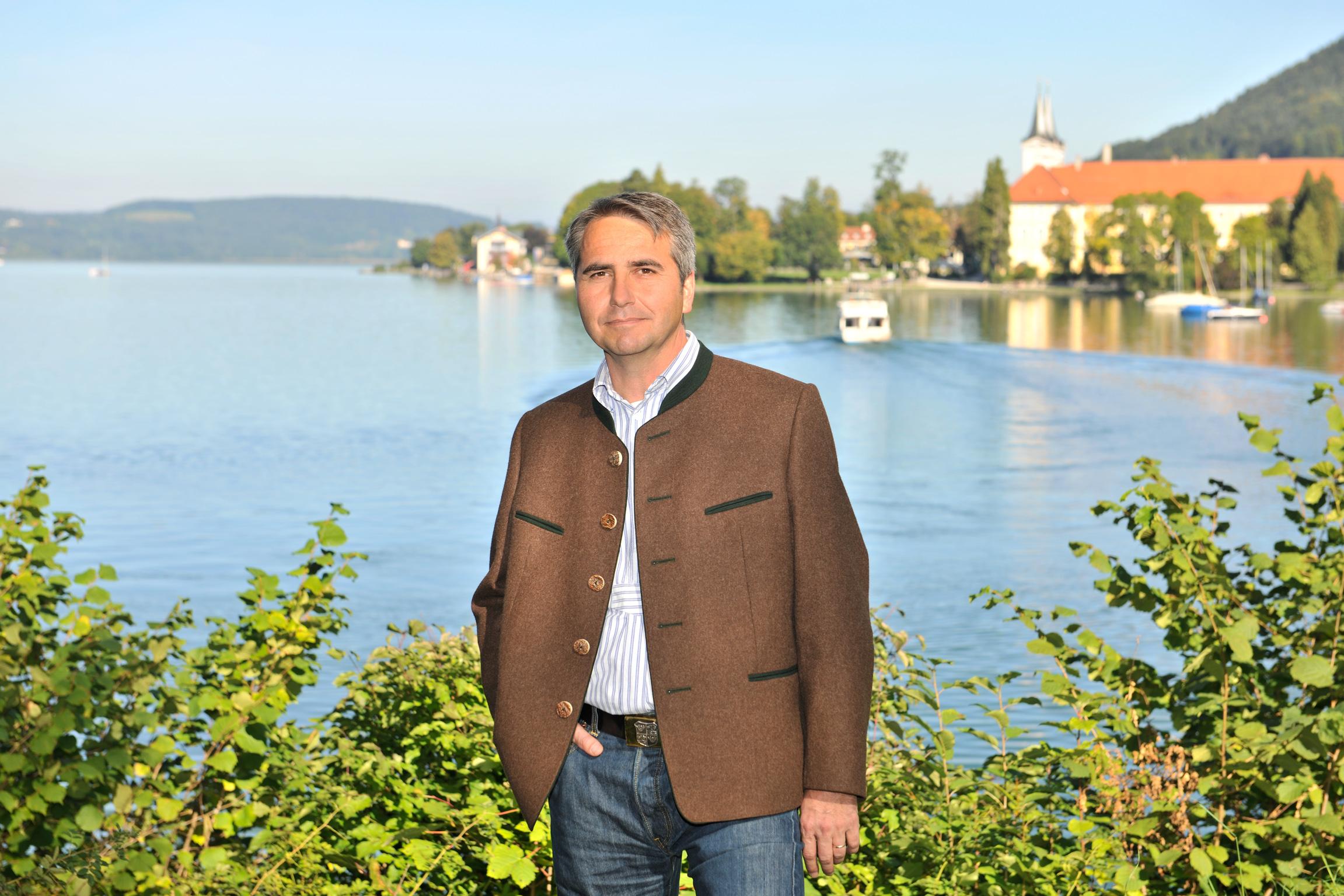 Johannes Hagn, 1. Bürgermeister der Stadt Tegernsee
