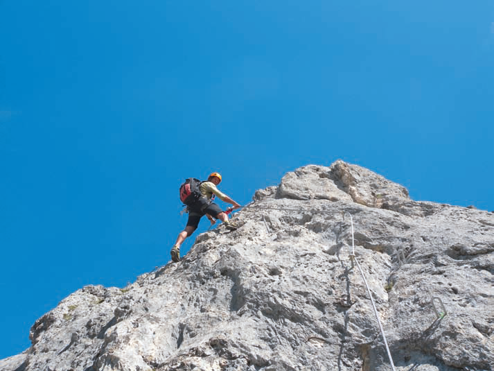 Klettersteig Tannheimer Tal : Sportklettersteig an der köllenspitze bergsteiger magazin