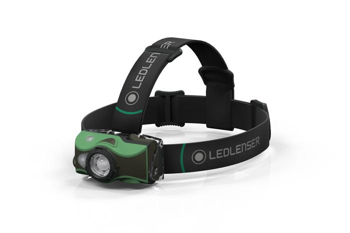 Im Bergsteiger Test: Led Lenser mh8
