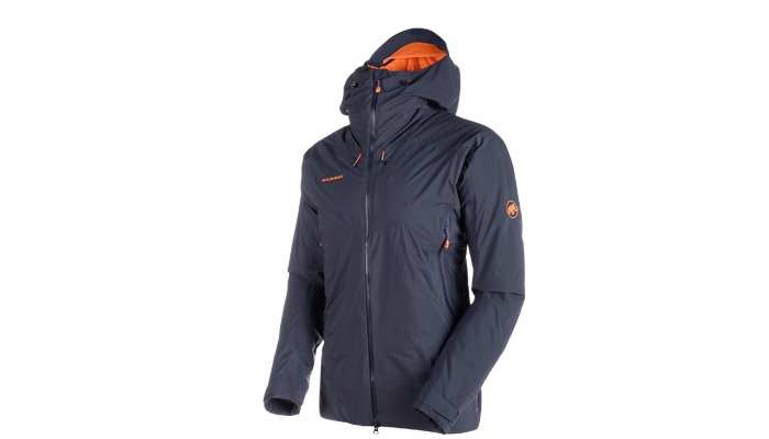 Im Bergsteiger Test: Mammut Nordwand HS Thermo Hooded Jacket
