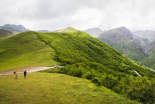 Die Berge sollten nicht unterschätzt werden.