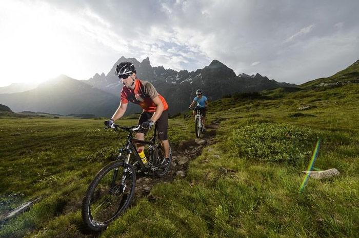 Ziemlich beliebt: Knapp die Hälfte der DAV-Mitglieder fährt Mountainbike