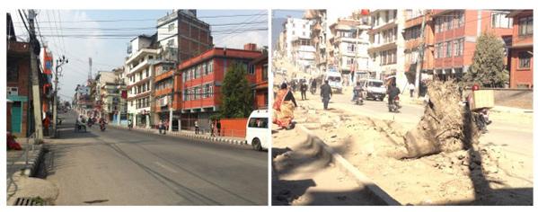Kathmandu im Oktober 2014