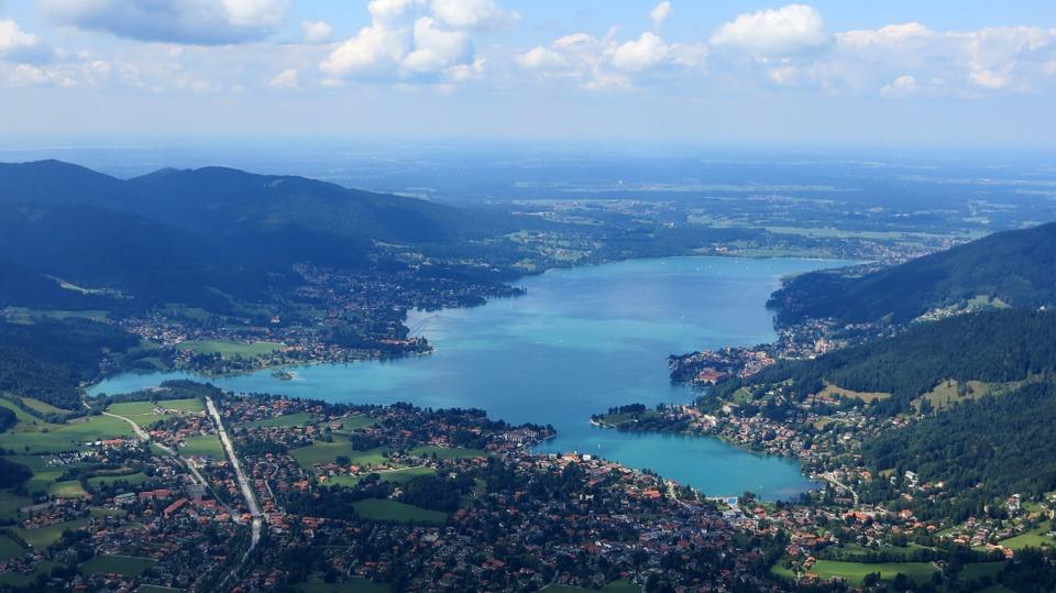 Der Tegernsee in Bayern, © Pixabay