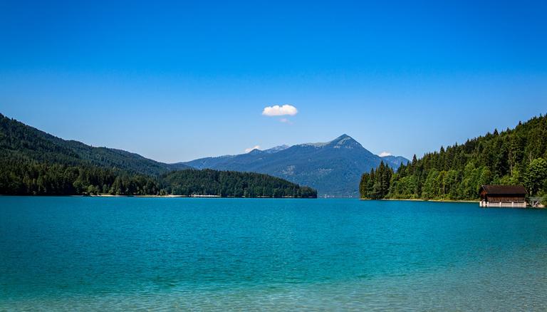 Der Walchensee in Bayern, © Pixabay