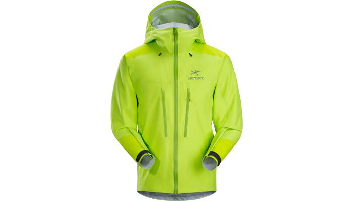 Im Bergsteiger Test: Arc'teryx Alpha AR Jacket