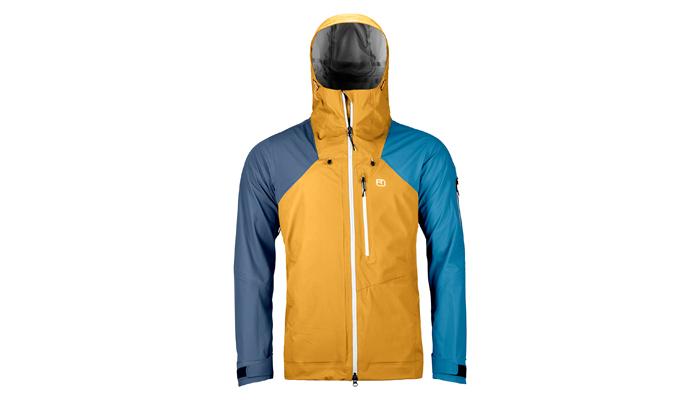 Im Bergsteiger Test: Ortovox 3L Ortler Jacket
