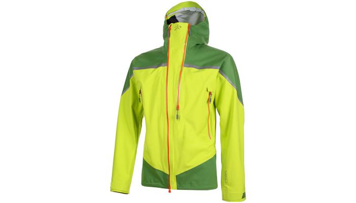 Im Bergsteiger Test: Radys R1 Pro Jacket