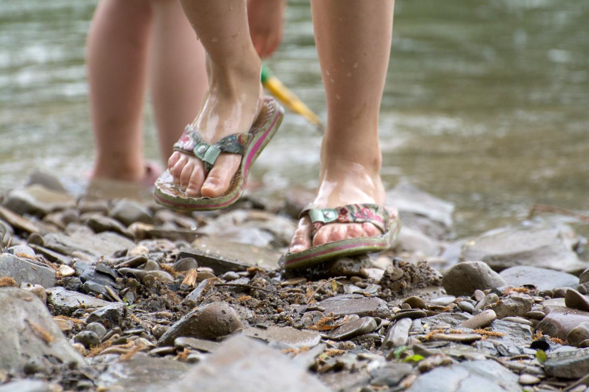 Wandern Flip Flops