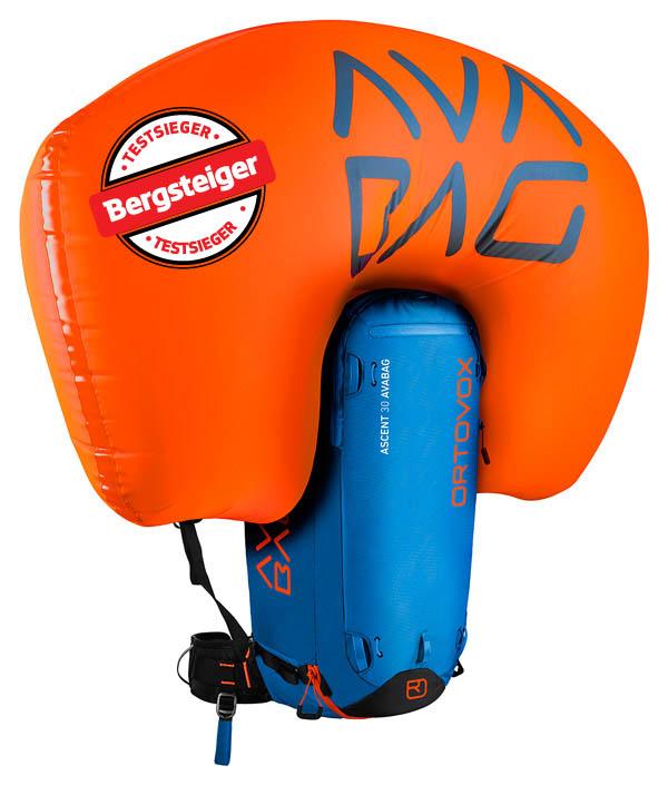 Im Bergsteiger Test: Ortovox Avabag Ascent