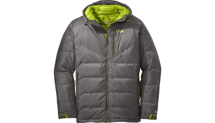 Im Bergsteiger Test: Outdoor Research Floodlight Down Jacket