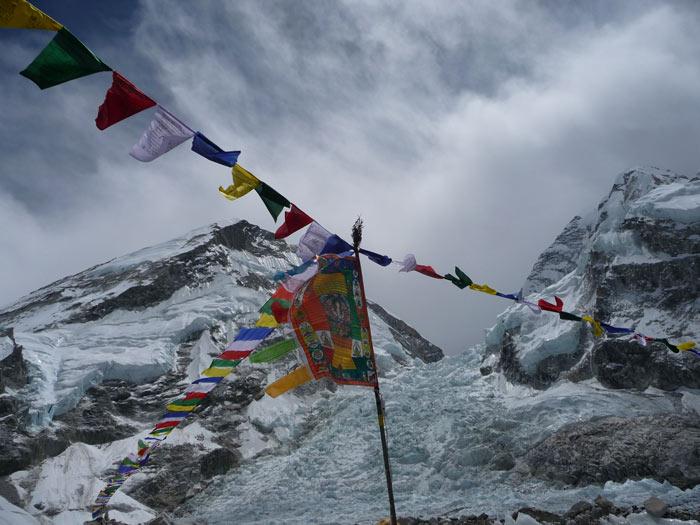 fotos everest bergsteiger