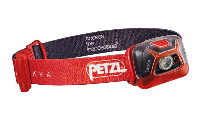 Im Bergsteiger Test: Petzl Tikka