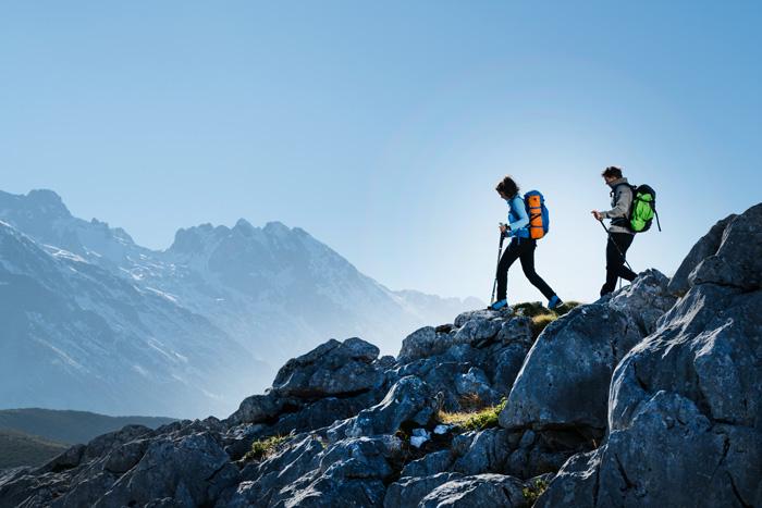 Perfekt vorbereitet für das Abenteuer in den Bergen