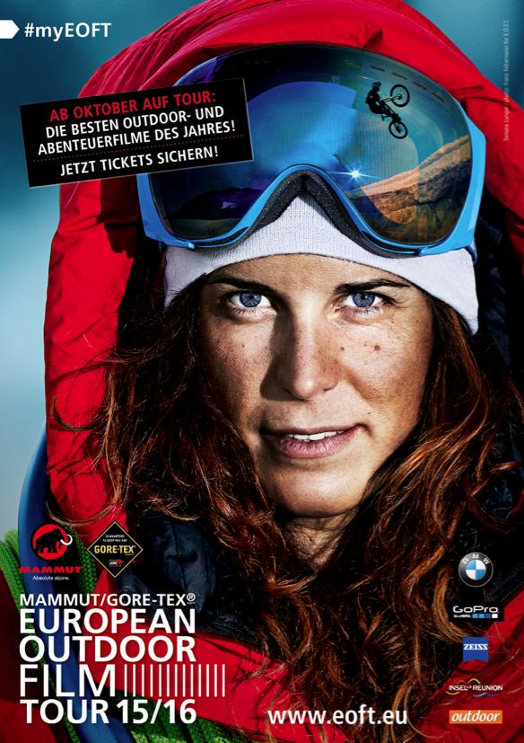 Das Gesicht der diesjährigen E.O.F.T. ist Tamara Lunger
