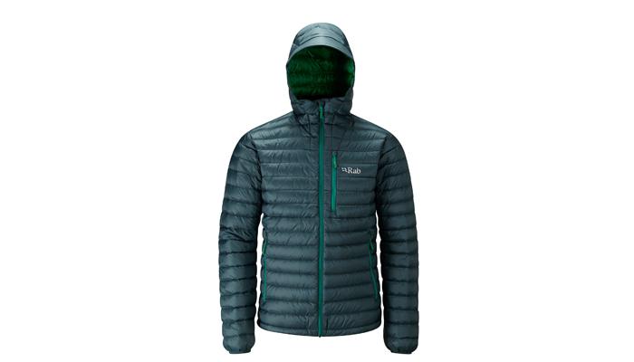 Im Bergsteiger Test: Rab Microlight Alpine Jacket