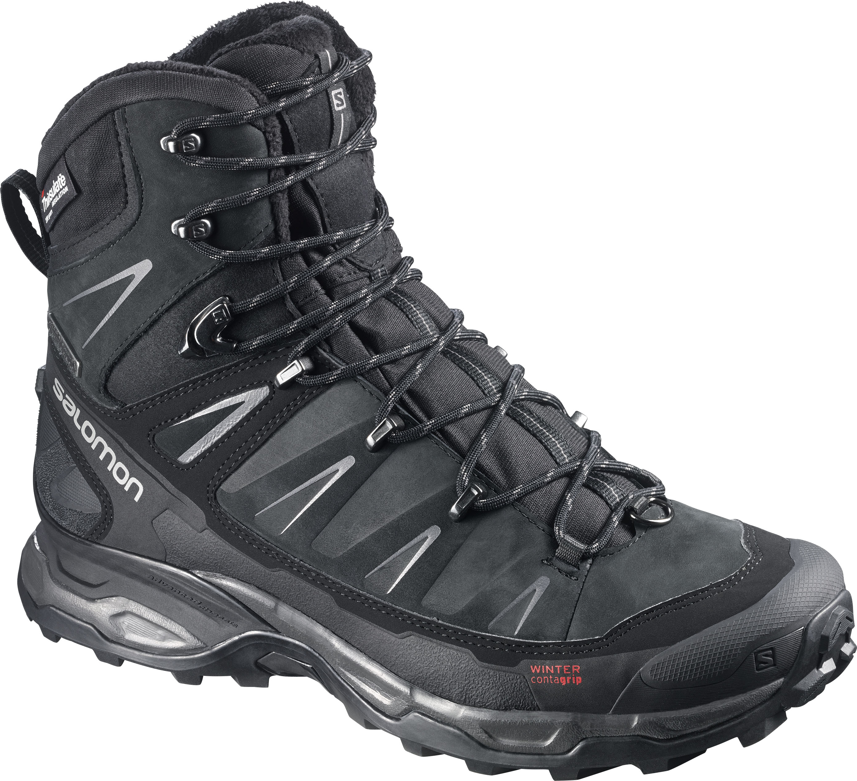 Im BERGSTEIGER Test 01/16: SALOMON X Ultra Winter CS