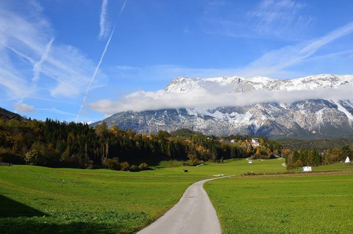 Herrlicher Blick auf die Ötztaler Alpen.