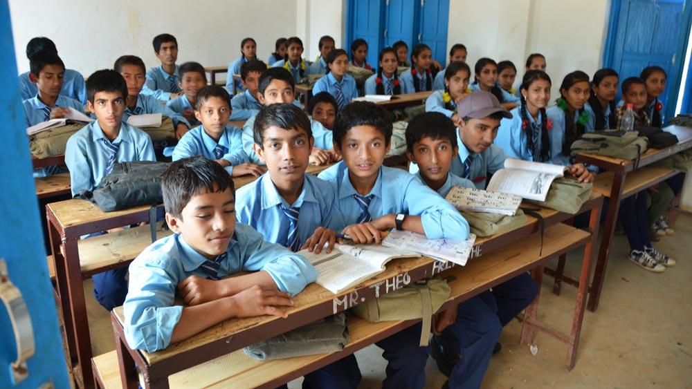 Schulprojekte Theo Fritsche Nepal