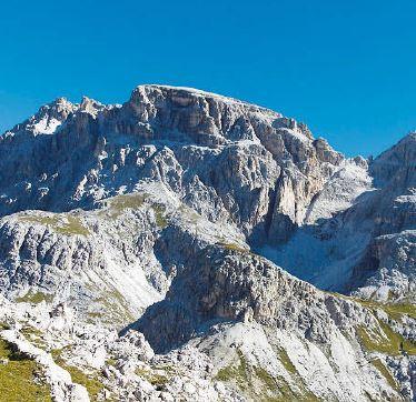 Die Schusterplatte ist ein Ziel für Bergsteiger, die sich vom Rummel etwas entfernen wollen.