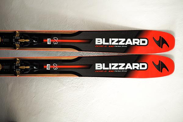 Im BERGSTEIGER Test 12/15: BLIZZARD Zero G 108 Tourenski