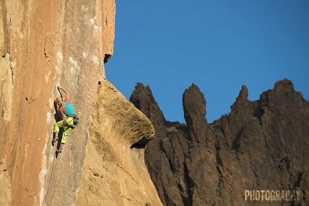 Klettern an den Smith Rocks