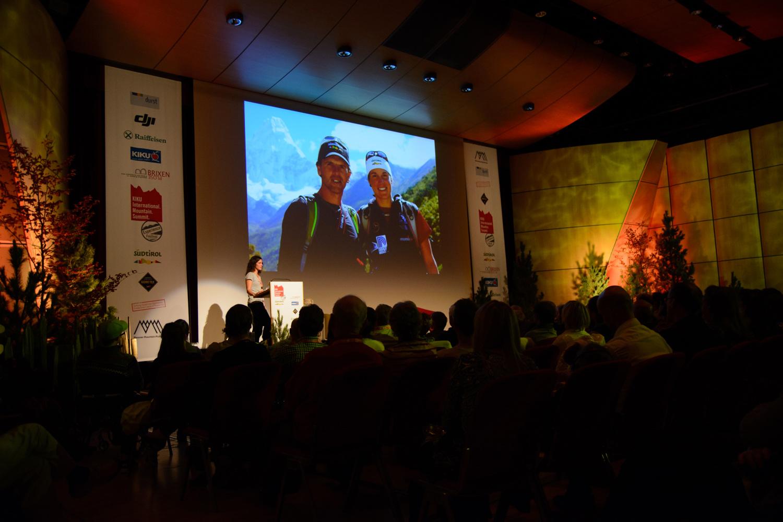 Tamara Lunger beim International Mountain Summit