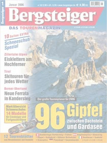 96 Gipfel-Träume: Zwischen Dachstein und Gardasee