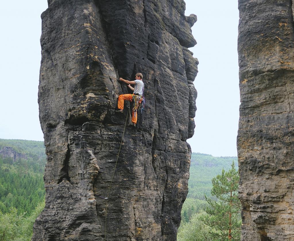 Sächsische Schweiz Klettern