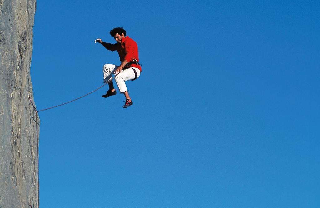 Klettergurt Aus Seil Machen : Sturztraining bergsteiger magazin