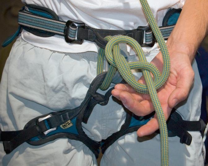 Klettergurt Und Seil : Klettergurt aus seil binden abseil montage ohne spezielle