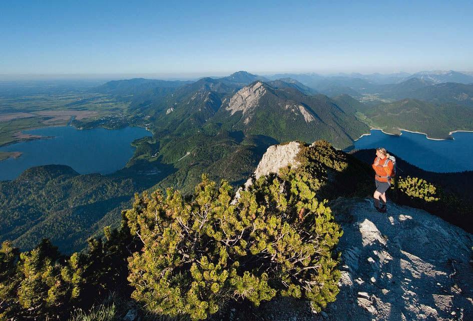 Klettersteig Walchensee : Serie geheimnisvolle alpen der walchensee bergsteiger magazin