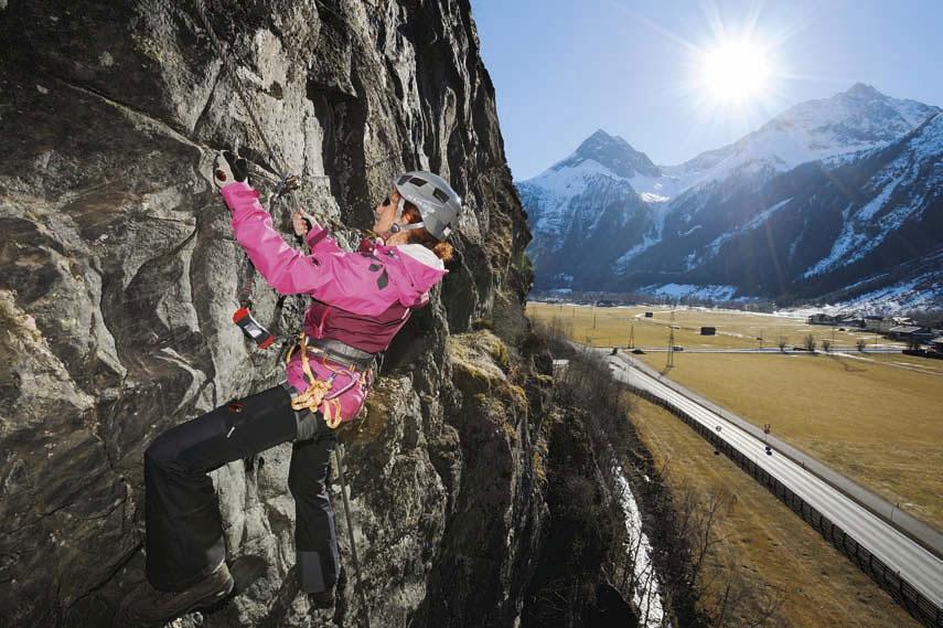 Klettersteigset Wie Einbinden : Sicher zum gipfel klettersteigtouren bergsteiger magazin
