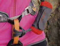 Klettersteigset Bandschlinge Einbinden : Klettersteigset am gurt einbinden test ergo zip