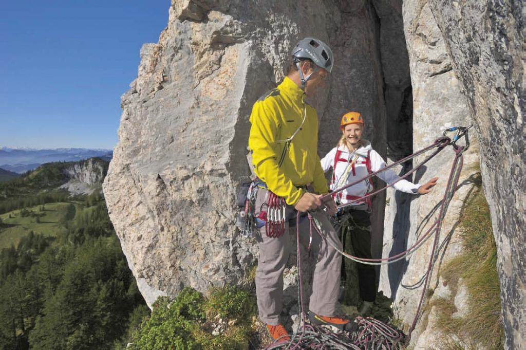 Klettergurt Alpinklettern : Zum alpinklettern an die kampenwand bergsteiger magazin