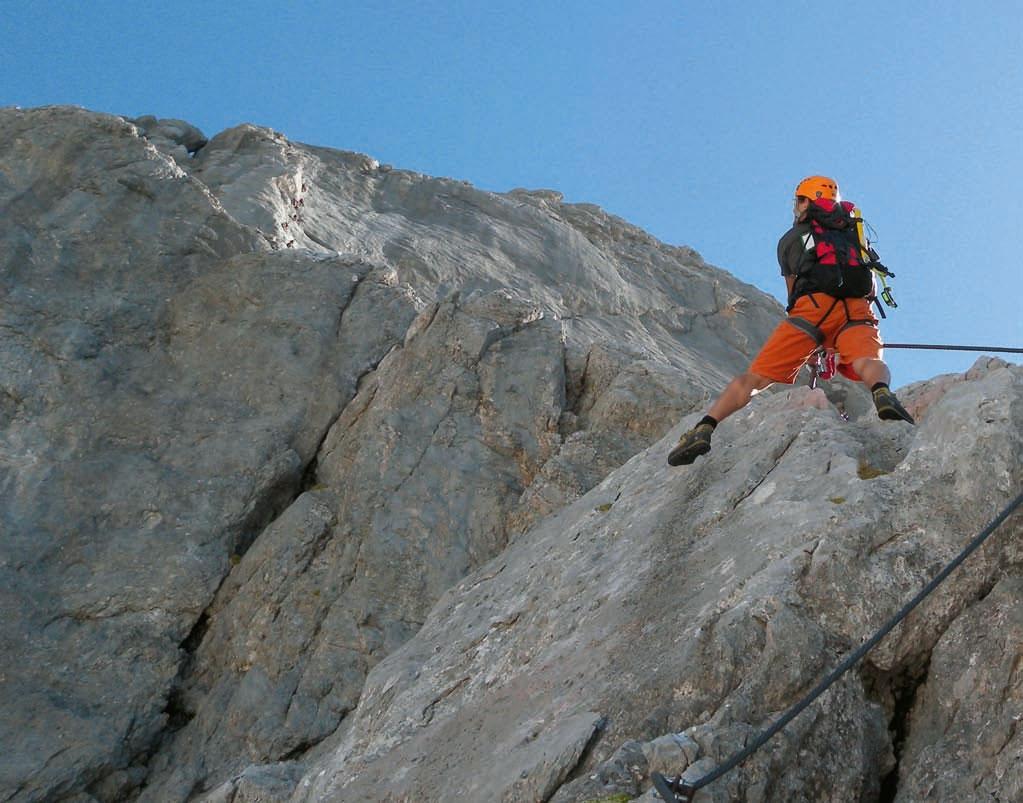 Klettersteig Johann Dachstein : Die super ferrata am dachstein bergsteiger magazin