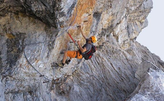 Dachstein Klettersteig Johann : Johann klettersteig und hoher dachstein youtube