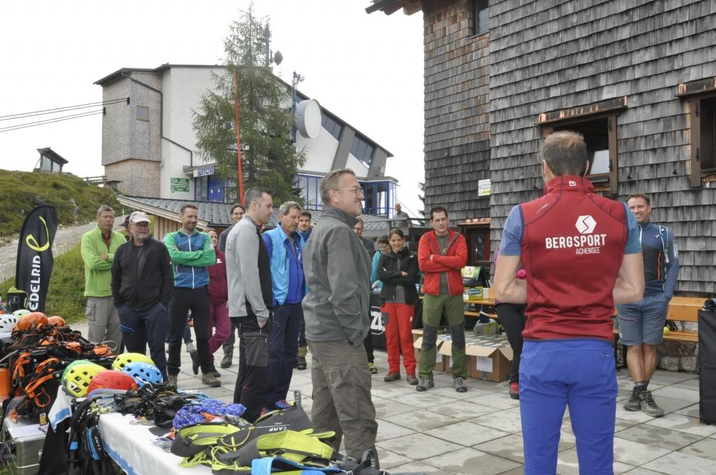 Tree Rider Klettergurt : Bergsteiger klettersteig testival magazin