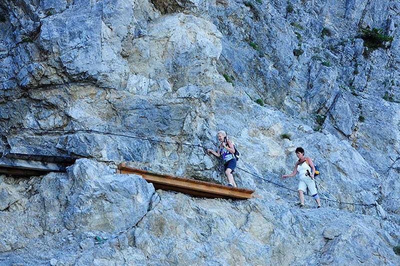 Klettersteig Liechtenstein : Liechtensteiner höhenwege bergsteiger magazin