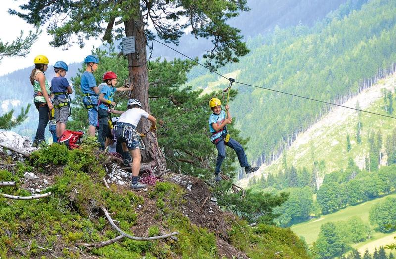 Klettersteig Kinder : Zwei klettersteige für kinder bergsteiger magazin