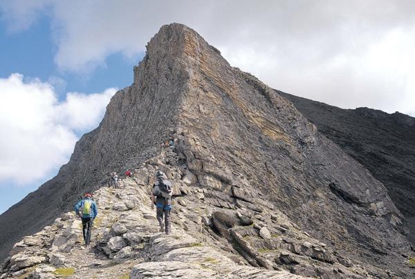 Klettersteig Rotstock : Klettersteige im schatten des eiger bergsteiger magazin
