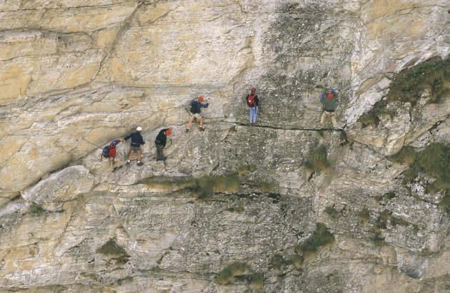 Klettersteig De : Klettersteig beschreibung stuibenfall