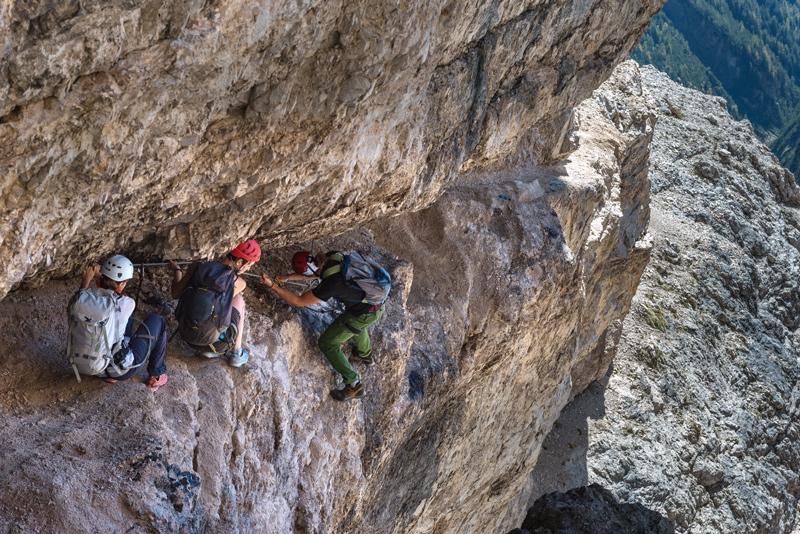 Klettersteig Tegernseer Hütte : Klettersteigrunde in den sextener dolomiten bergsteiger magazin