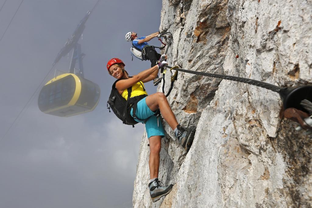 Klettersteig Wallis : Der boom und die frage sicherheit bergsteiger magazin