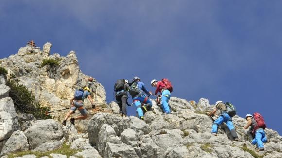 Klettersteig Norddeutschland : Bergsteiger magazin