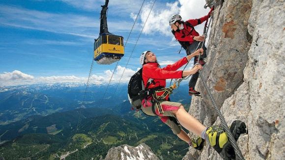 Klettersteigset Ultraleicht : Klettersteig special bergsteiger magazin