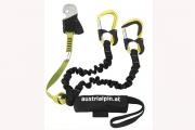 Klettersteigset One Touch : Test cable comfort klettersteigset von edelrid bergsteigen